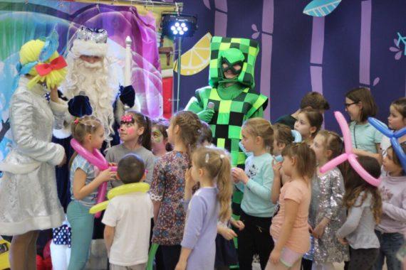 Новогодняя праздничная программа для классов, детских садов, секций и больших компаний в Джунгли парке