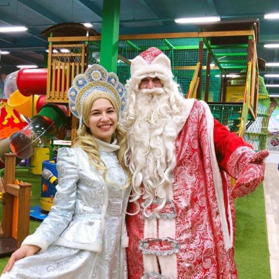 Поздравление от Деда Мороза в Джунгли парке